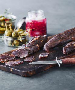 Smokepins og kød