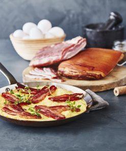 Smokepins og omelet